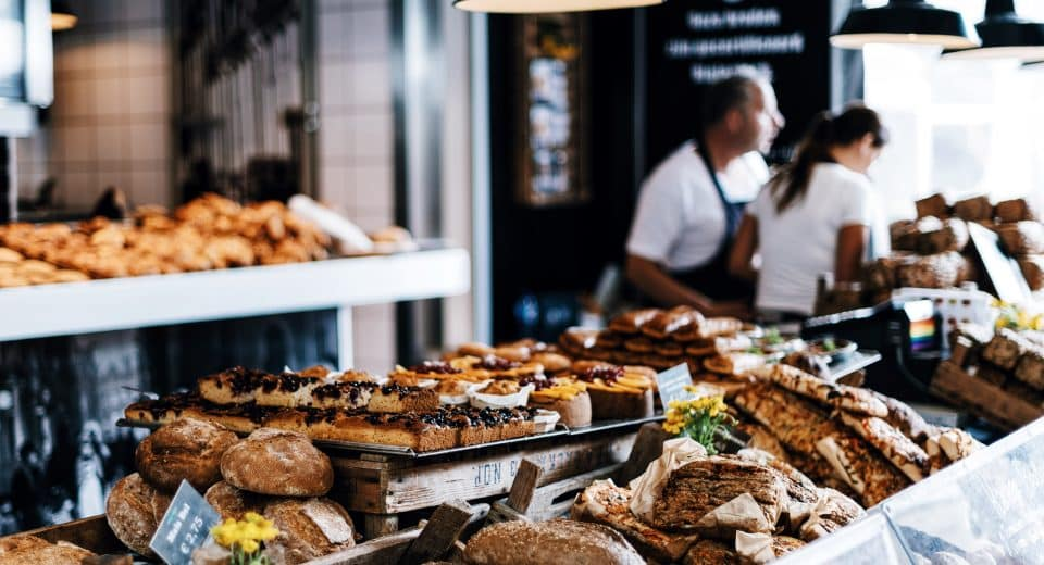a buffet